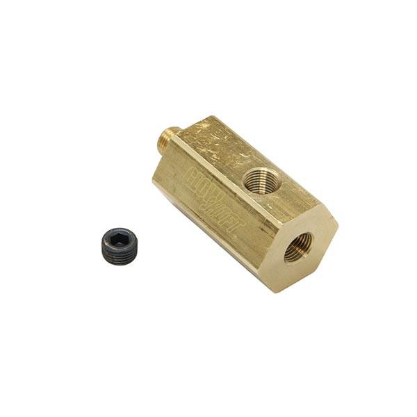Removable 1/8-27 NPT Port Plug Thread