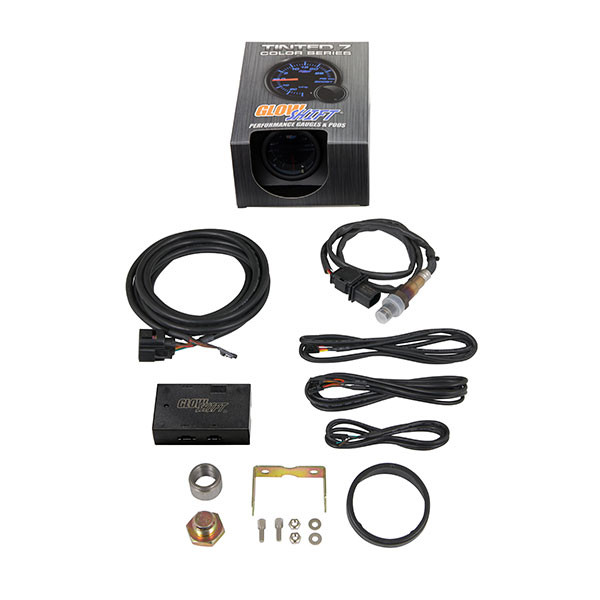 Tinted 7 Color Analog Wideband Air/Fuel Ratio Gauge Unboxed