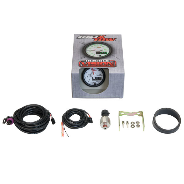 White & Green MaxTow Nitrous Pressure Gauge Unboxed