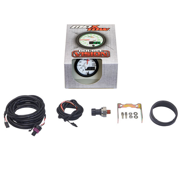 Included Components with MaxTow 100 PSI Boost Gauge