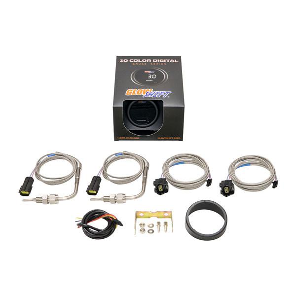 10 Color Digital Dual Pyrometer EGT Gauge Unboxed