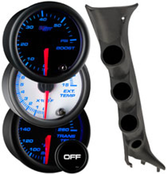 2009-2014 Ford F-150 Custom 7 Color Gauge Package Thumb