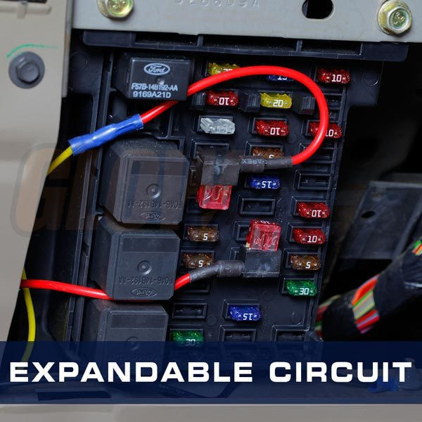 GlowShift Expandable Circuit Installed