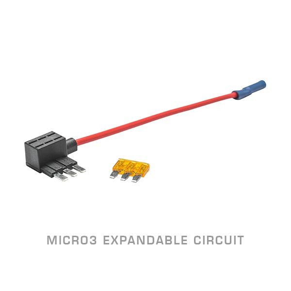 Micro3 Expandable Circuit & 5 Amp Fuse