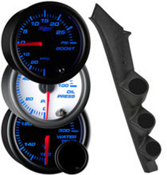 7 Color Series Triple Gauge Package for 1982-1993 GMC S15 Sonoma