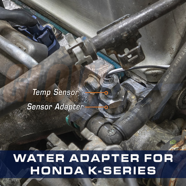 Water Temperature Sensor Thread Adapter for Honda K-Series Engines