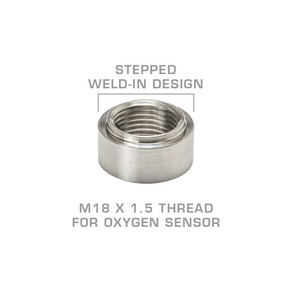 Wideband Air/Fuel Ratio Oxygen Sensor Stepped Weld-In Bung