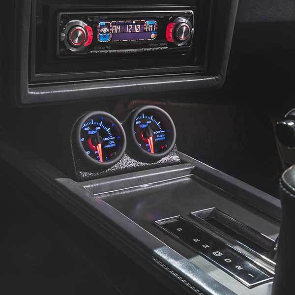 7 Color Series Gauges Installed