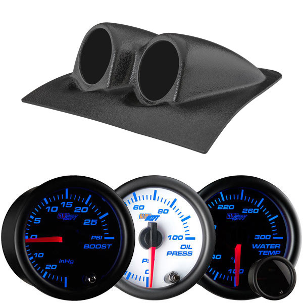 7 Color Series Dual Gauge Package for 2004-2006 Pontiac GTO Thumb