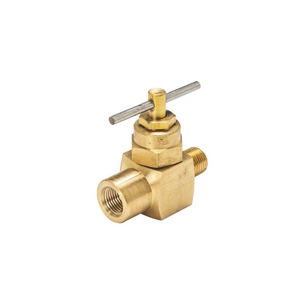 1/8-27 NPT Diesel Fuel Pressure Snubber Needle Valve
