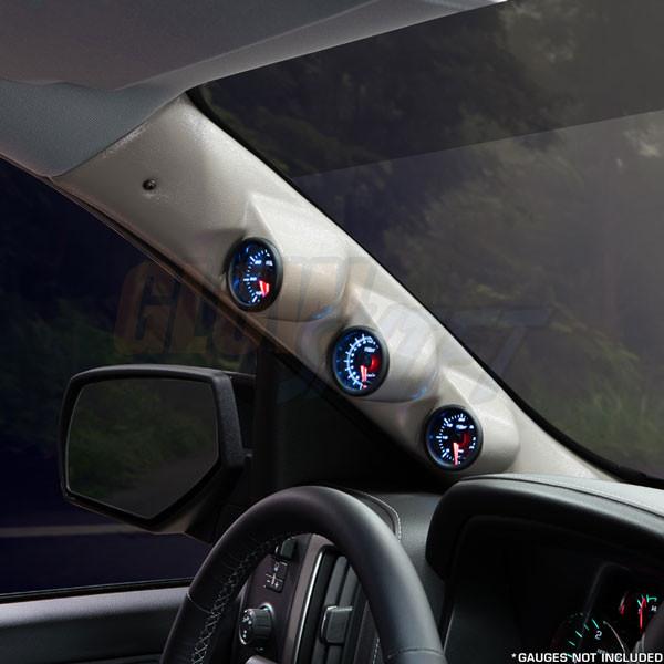 2014-2020 Chevrolet Tahoe Tan Triple Pillar Pod Angled View