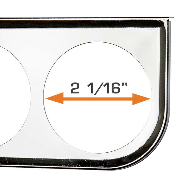 "For 2-1/16"" Diameter Gauges"