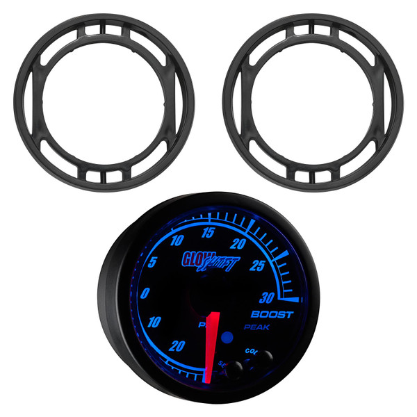 Elite 10 Color Series Dual Air Vent Gauge Package for 2015-2021 Ford Mustang