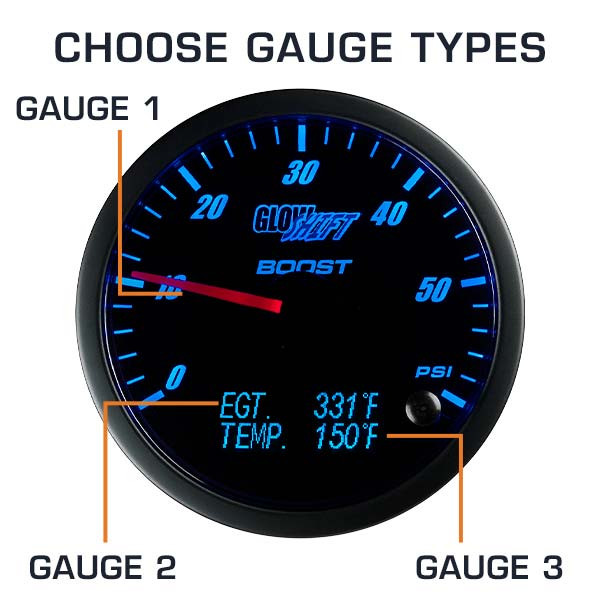 Choose 3 in 1 Gauge Types