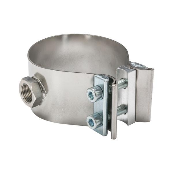Clamp-On Wideband Oxygen Sensor Bung Adapter