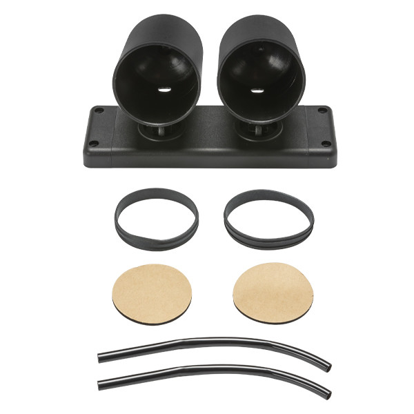 Everything Included with Universal Dual Gauge Swivel Dashboard Pod