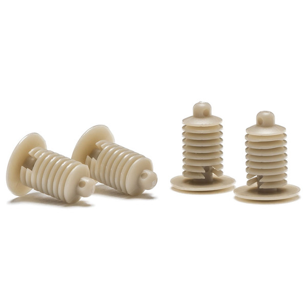 Replacement Tan Pillar Pod Push-In Mounting Fasteners