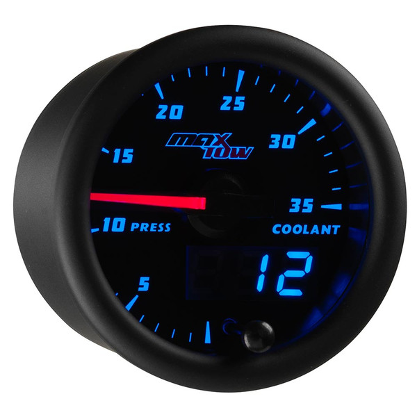 Black & Blue MaxTow 35 PSI Coolant Pressure Gauge