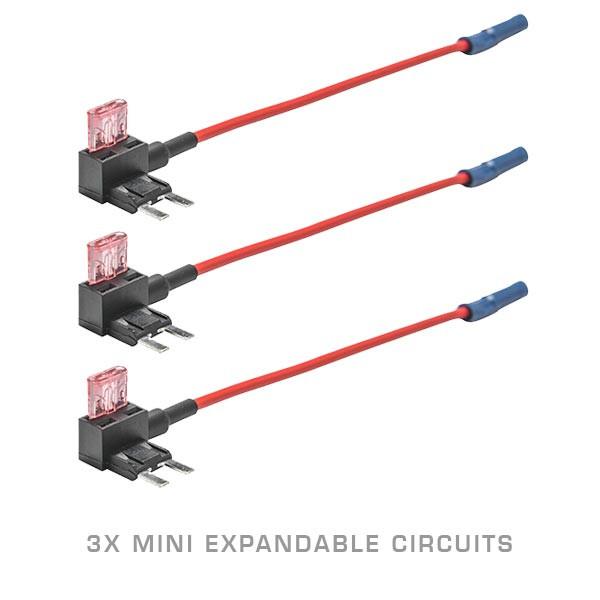 3 Pack - Mini Expandable Circuit & 4 Amp Fuse