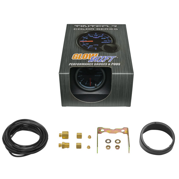 GlowShift Tinted 7 Color 20 PSI Boost Gauge Unboxed
