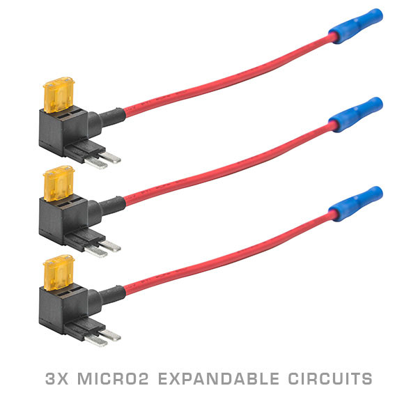 3 Pack - Micro2 Expandable Circuit & 5 Amp Fuse