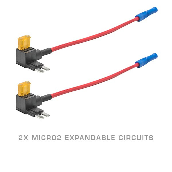 2 Pack - Micro2 Expandable Circuit & 5 Amp Fuse
