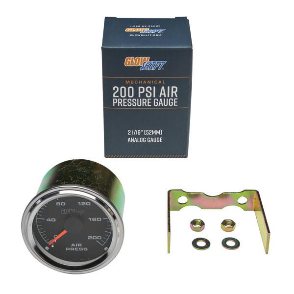 Mechanical 200 PSI Air Pressure Gauge Unboxed