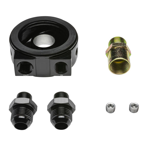 Included Components with Oil Cooler Sandwich Adapter