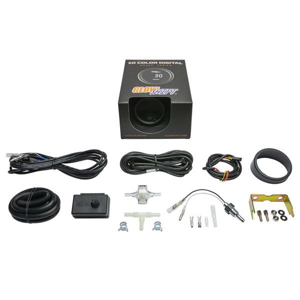 10 Color Digital Dual Boost/Vacuum & Temperature Gauge Unboxed