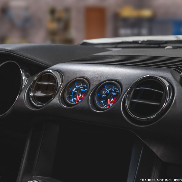Dual Gauge Dashboard Bracket Pod for 2015-2021 Ford Mustang GT Performance Package