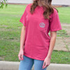 Off to College - Comfort Colors Tee - 9 Colors Available