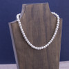 """8mm Silver Bead Necklace- 18""""│HandPicked"""