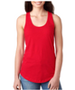 Monogram Red Racer Back Tank │HandPicked