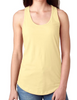 Monogram Banana Cream Racer Back Tank │HandPicked