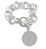 Personalized Large Double Link Bracelet