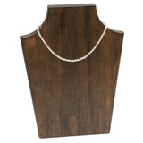 """Girls Freshwater Pearl Necklace 14"""" - 3.5mm with Sterling Silver Clasp"""