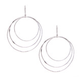 Large Graduated Circle Earrings│HandPicked