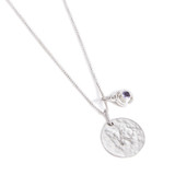 ADD TO A SILVER CHAIN WITH A BIRTHSTONE CHARM