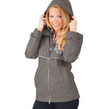 Personalized Grey Adult Rain Jacket│HandPicked │ Charles River