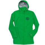 Personalized Kelly Green Logan Rain Jacket │HandPicked