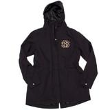 Personalized Black Logan Rain Jacket │HandPicked
