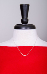 """""""HOPE"""" Morse Code Necklace - Exclusive HandPicked Sterling Silver Design"""