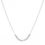 """""""Friend"""" Custom Morse Code Sterling Silver Necklace - HP Exclusive Design, Artisan HandCrafted"""