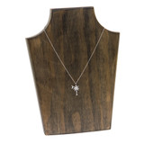 CZ Palmetto Moon Necklace