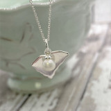 HP Sterling Silver SC State Necklace