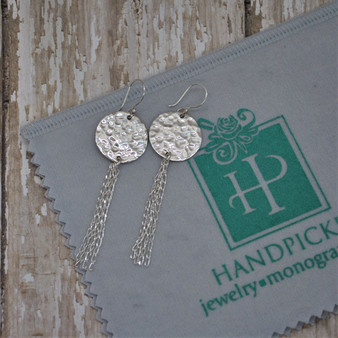 Back in Limited Quantity! 3/4 Disc Chain Tassel HP Exclusive - Sterling Silver