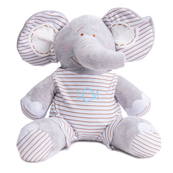 Blue Plush Elephant│HandPicked
