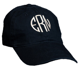 Personalized Black Baseball Cap │HandPicked