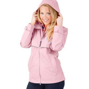 Personalized Pink Adult Rain Jacket│HandPicked