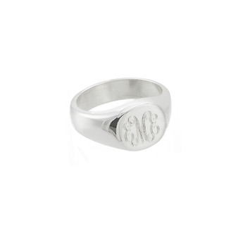 Classic HP Monogram Signet Ring